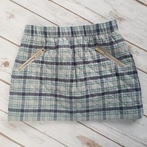 Janie And Jack Plaid Skirt || 5
